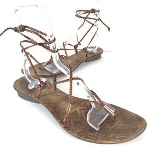 Spring strapped sandals